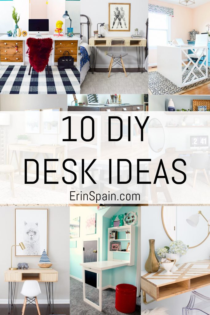 10 DIY Desk Ideas