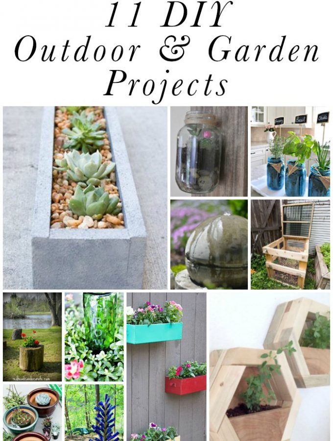 11 DIY Outdoor & Garden Projects