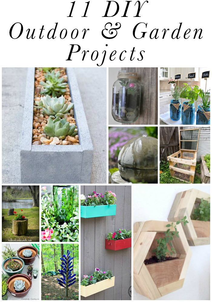Check out these amazing DIY outdoor & garden projects from the DIY Housewives blog series!