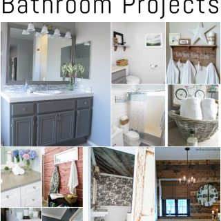 Check out these DIY bathroom projects for ideas and inspiration!