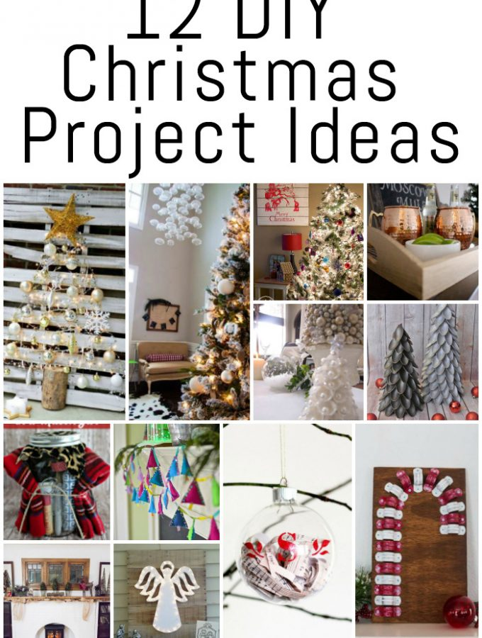 12 DIY Christmas Project Ideas