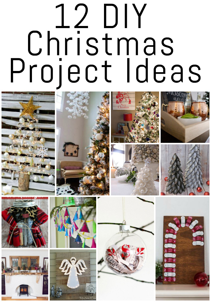 These 12 DIY Christmas project ideas are