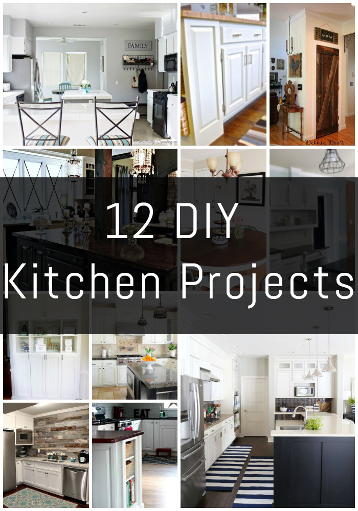 12 DIY Kitchen Projects