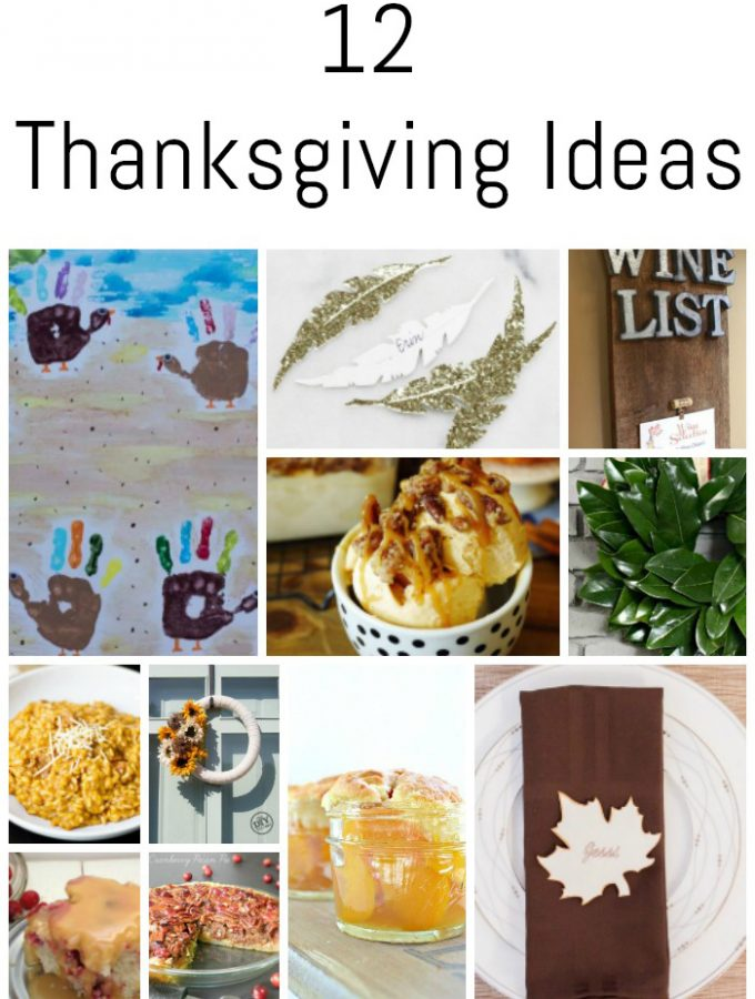12 Thanksgiving Ideas {DIY Housewives Series}