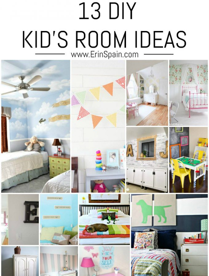 13 DIY Kid's Room Ideas