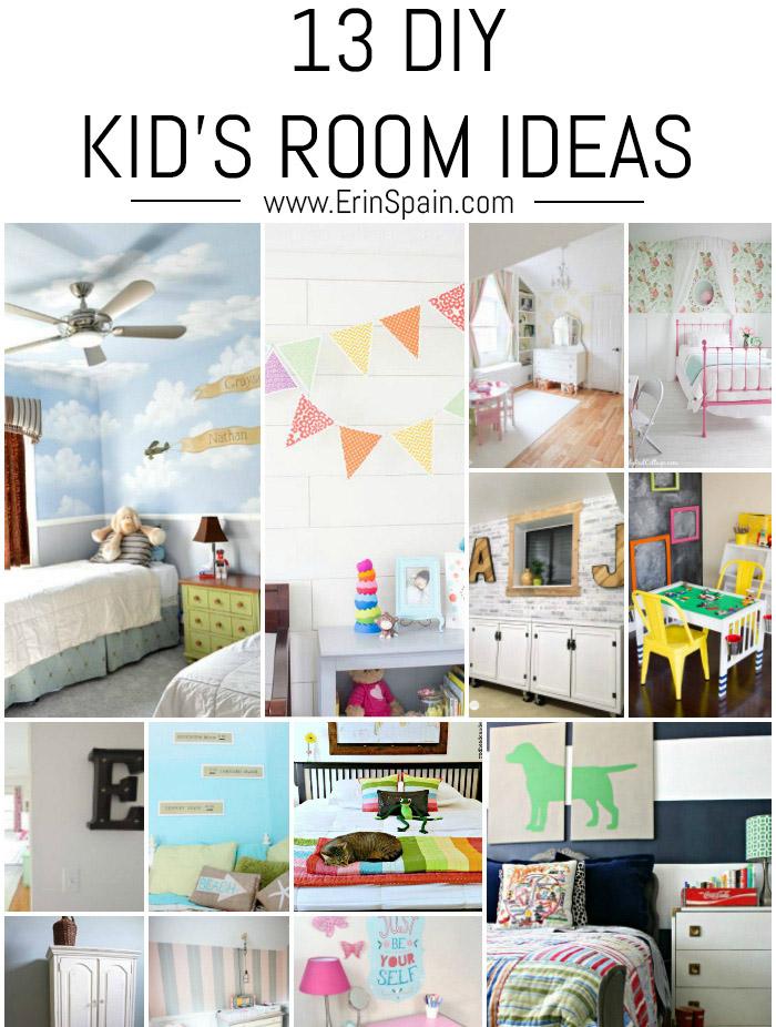 13 diy kid 39 s room ideas erin spain for Idea room blog