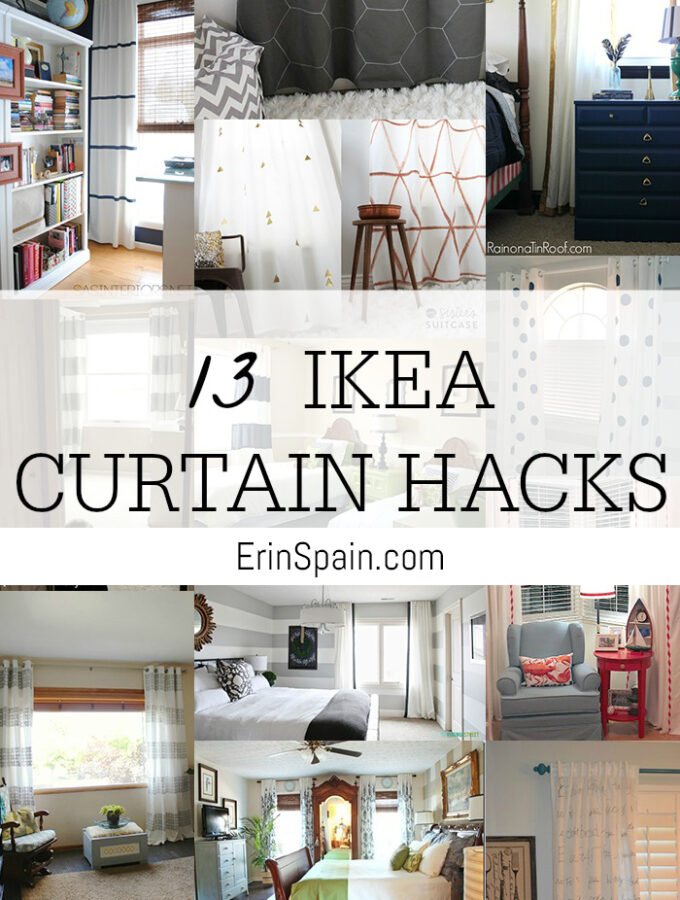 13 DIY IKEA Curtain Hacks: Window Coverings on a Budget
