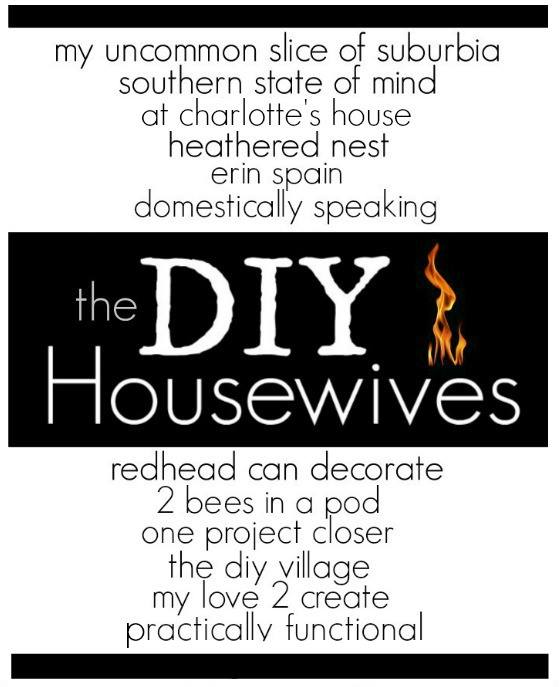 The DIY Housewives is a monthly blog series featuring DIY projects that fit a specific theme each month.