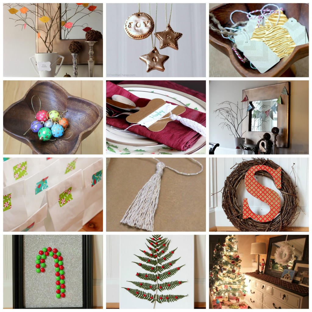 DIY on the Cheap: 2013 Year In Review - Holiday Projects