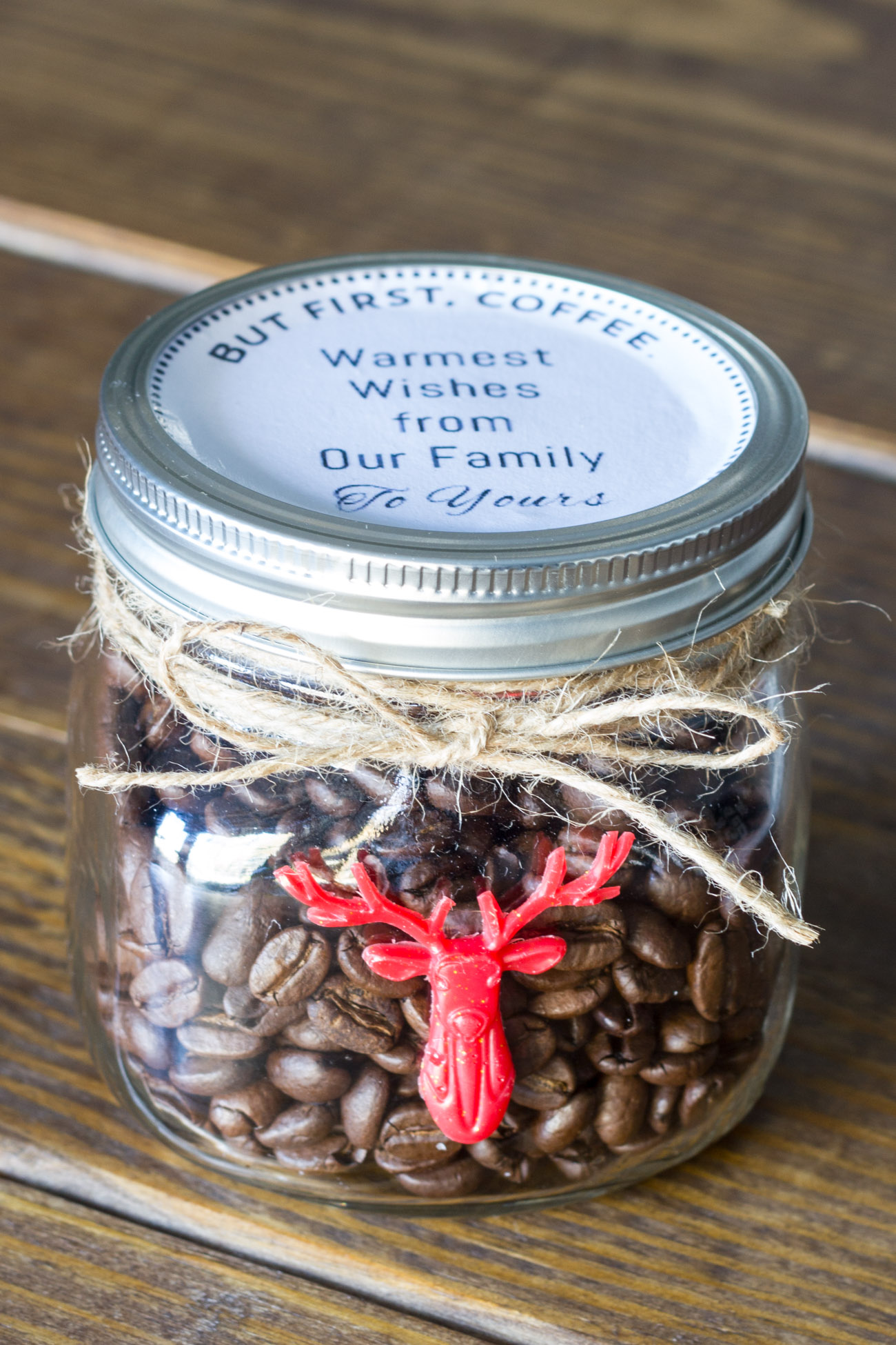30 Minute Gift Idea For The Coffee Lover Amp Free Printable