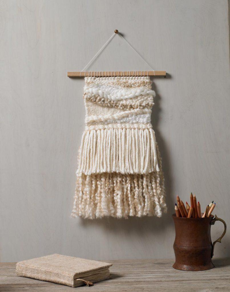 Bucilla weaving loom wall hanging