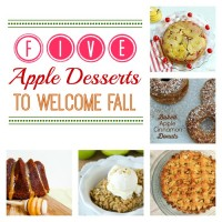 5 Apple Desserts to Welcome Fall