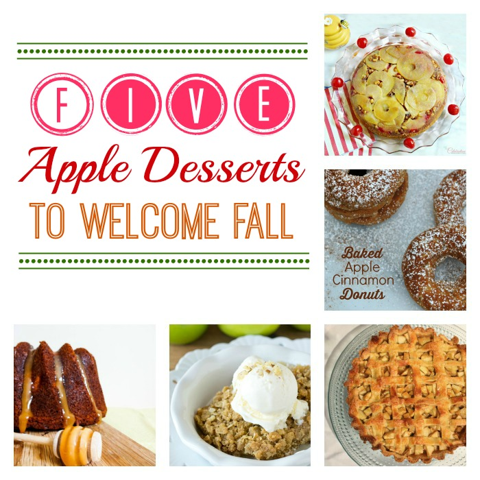 Five Apple Desserts to Welcome Fall & M&MJ Link Party {70}