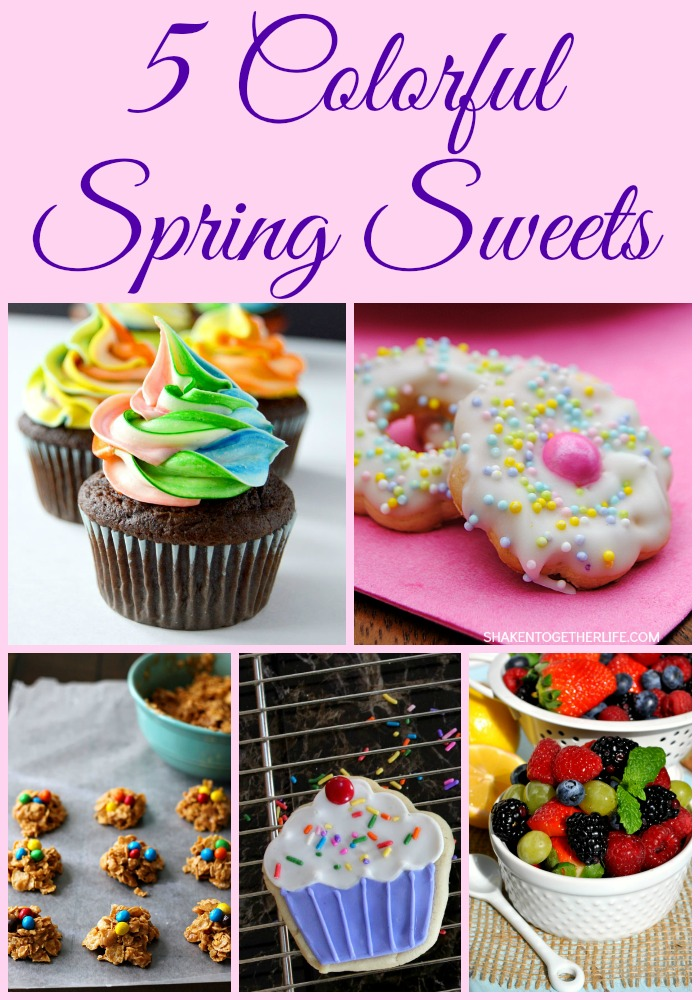 Colorful Spring Sweets Recipes + M&MJ {97}