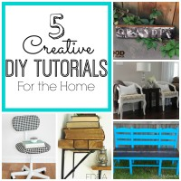 5 Creative DIY Tutorials for the Home