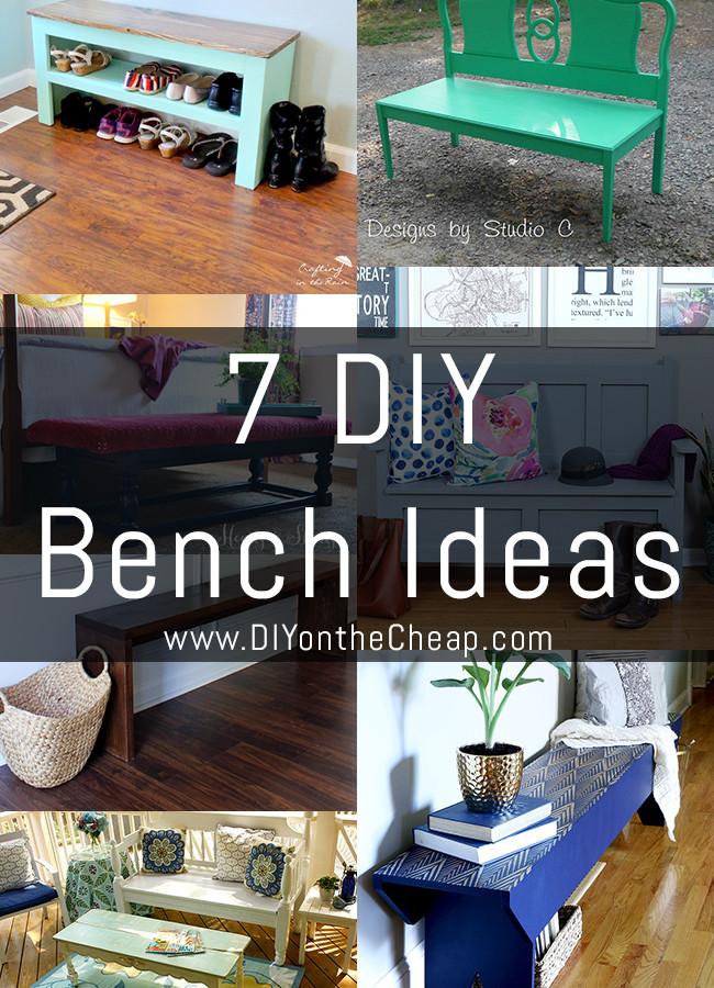 7 DIY Bench Ideas
