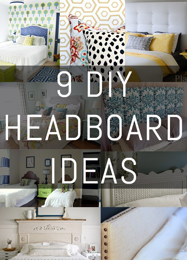 9 DIY Headboard Ideas