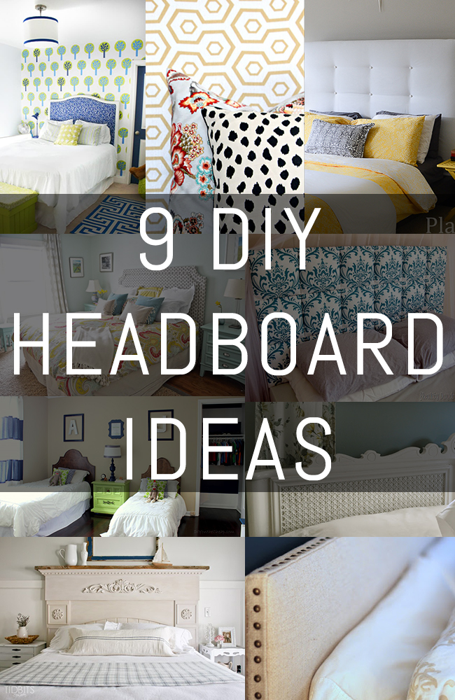 9 diy headboard ideas erin spain for Cool bed head ideas