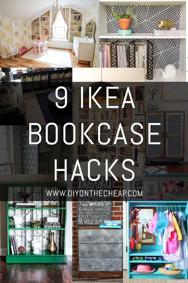 These 9 IKEA Bookcase Hacks will definitely inspire you!