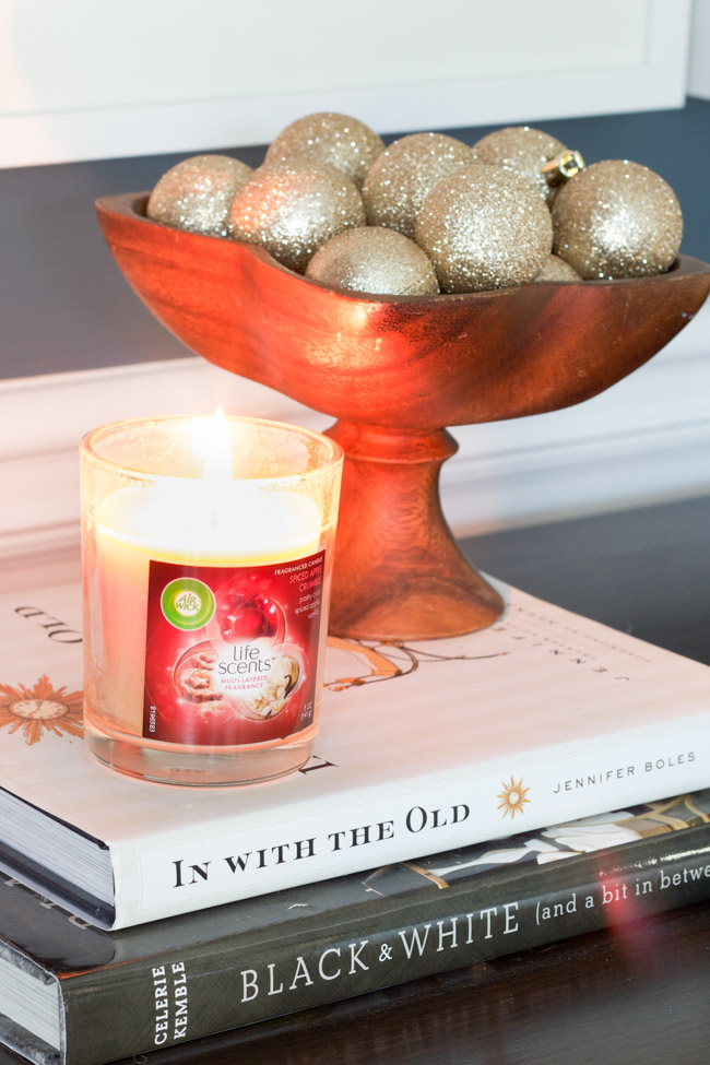 Holiday decorating tips, plus enter to win an Air Wick candle prize pack!