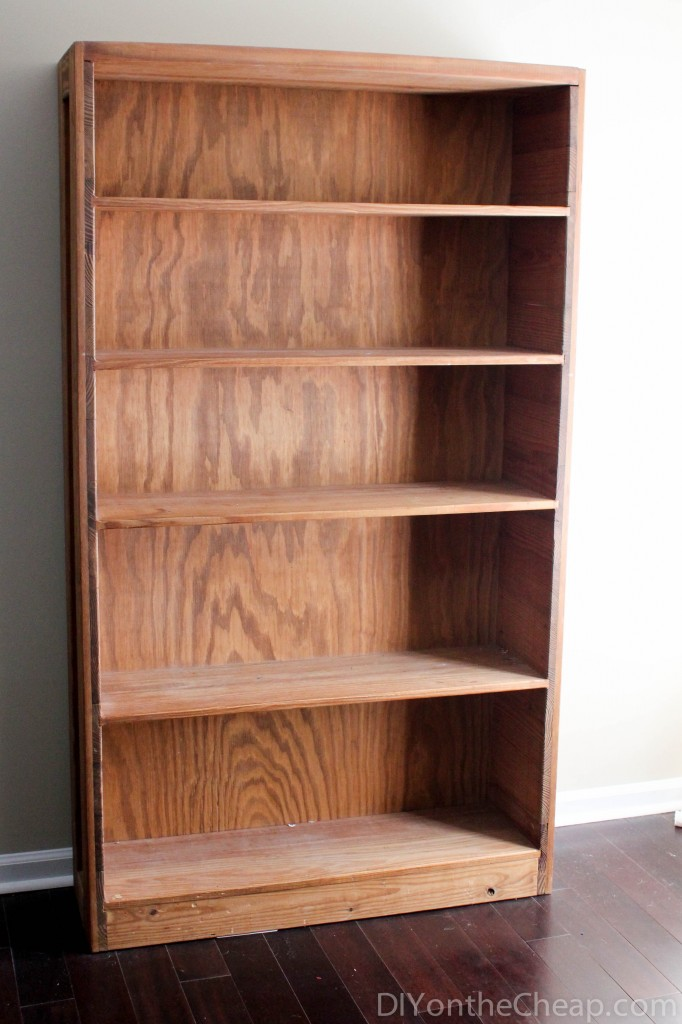 Bookcase before - check out the after!