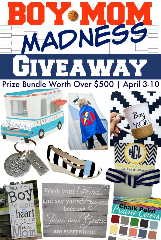 Boy Mom Madness Series: Link Party and a Giveaway!