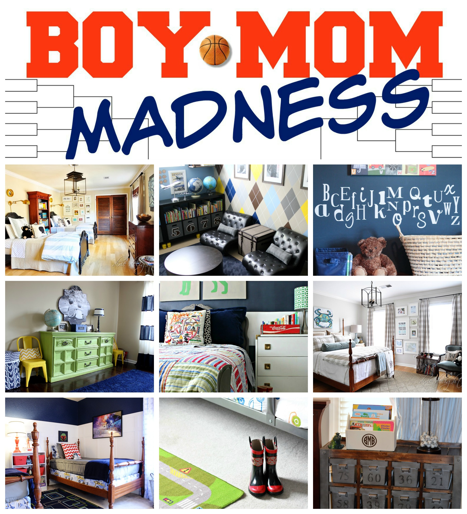 Boy Mom Madness Series: Boys Bedrooms