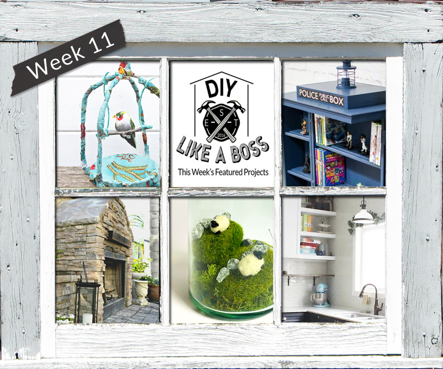 DIY Like a Boss link party features