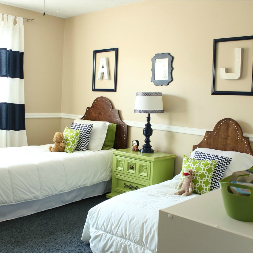 DIY on the Cheap: 2013 Year In Review - Boys' Bedroom Makeover