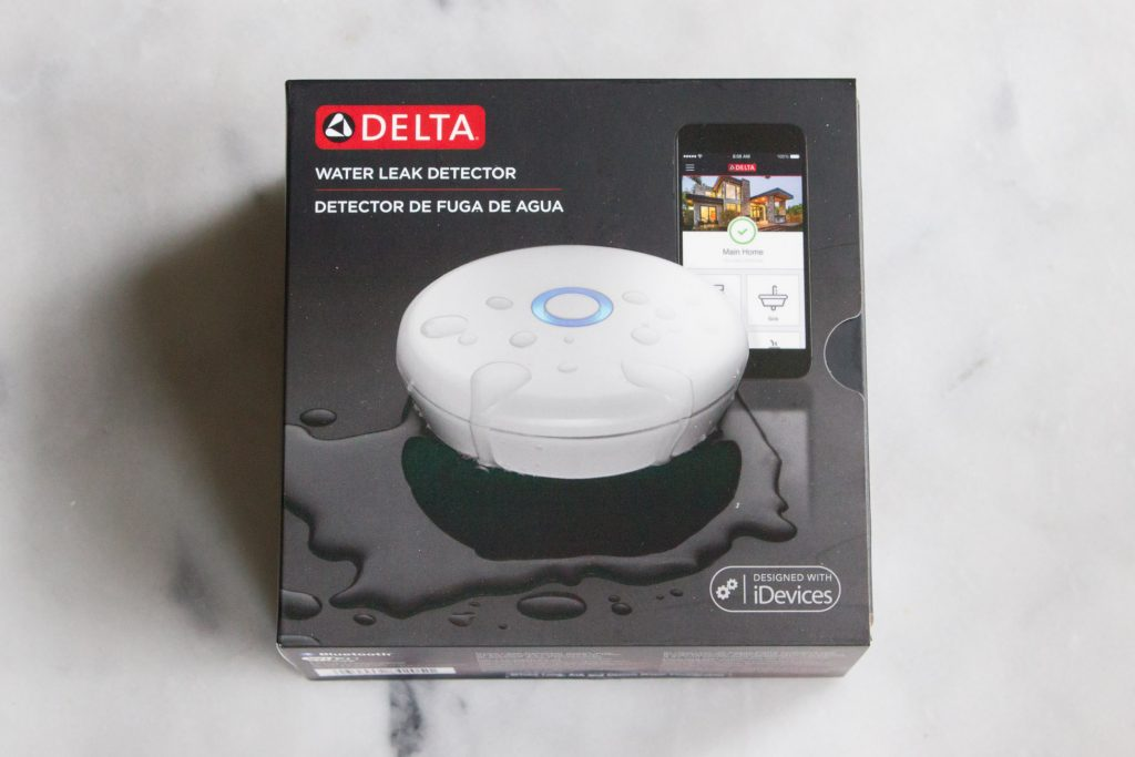 Get notifications sent to your smartphone or tablet as soon as one of your home's water sources starts leaking. The Delta Leak Detector will notify you immediately.