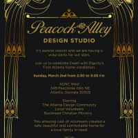 Dwell with Dignity Wrap Party Invitation