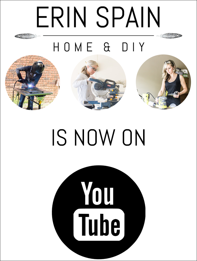 Erin Spain is now on YouTube! Check out her DIY tutorials!