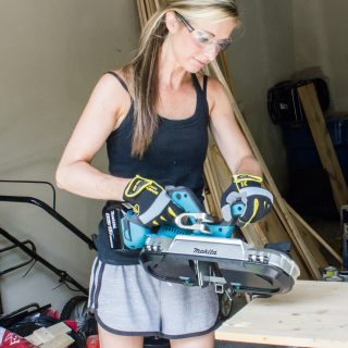 "Check out this review of the Makita Compact Band Saw and see how it cuts 3/4"" tube steel!"