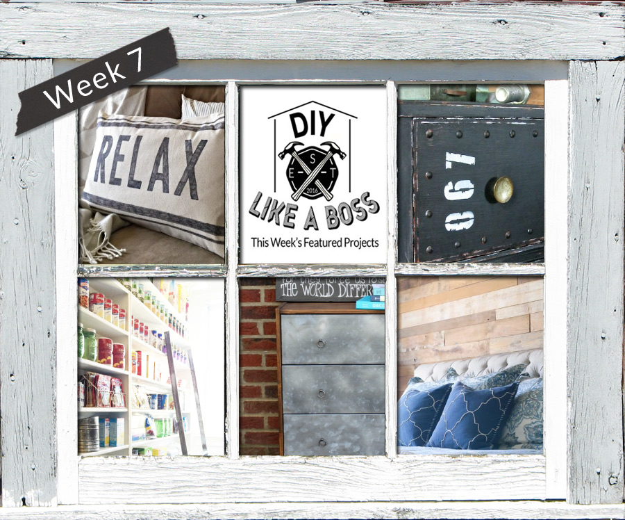 DIY Like a Boss Week 7 Features