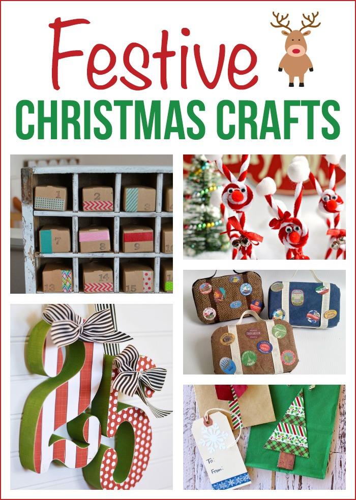 5 Festive Christmas Crafts + M&MJ Link Party {85}