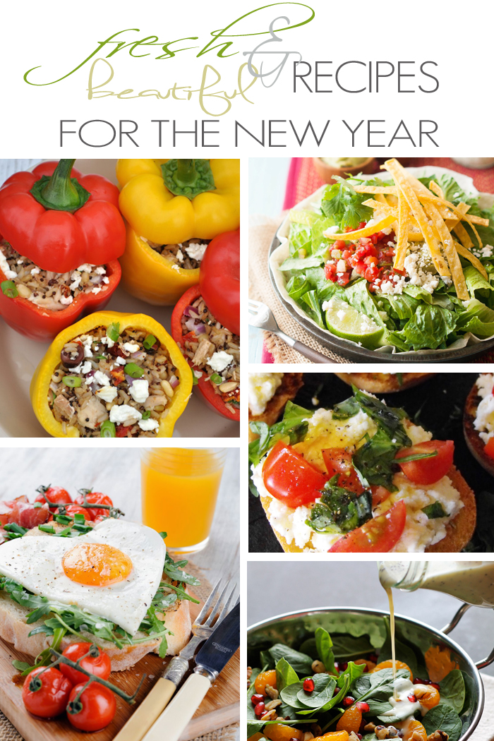 Fresh and Beautiful Recipes for the New Year + M&MJ {88}