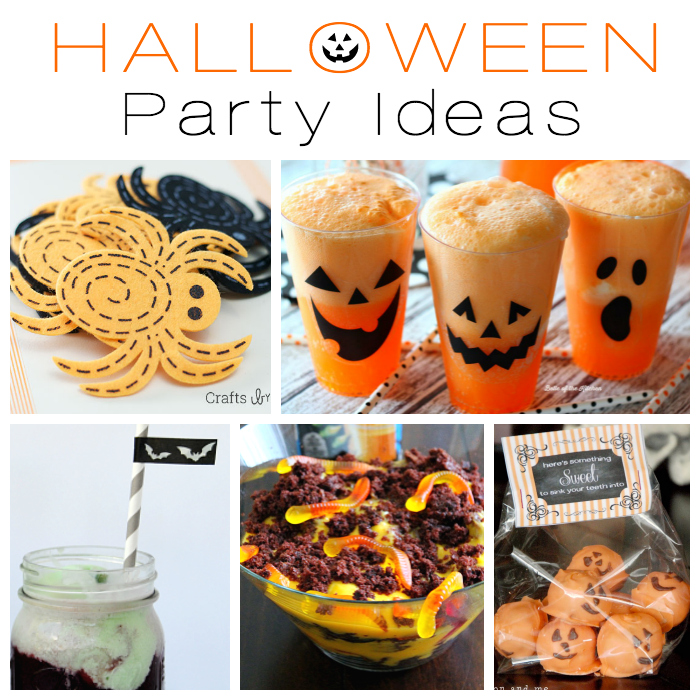 Halloween Party Ideas + M&MJ Link Party {79}