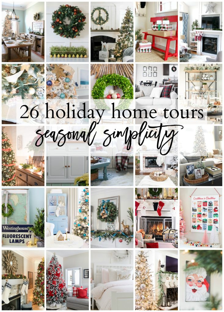 Check out these holiday home tours as part of the Seasonal Simplicity blog hop!