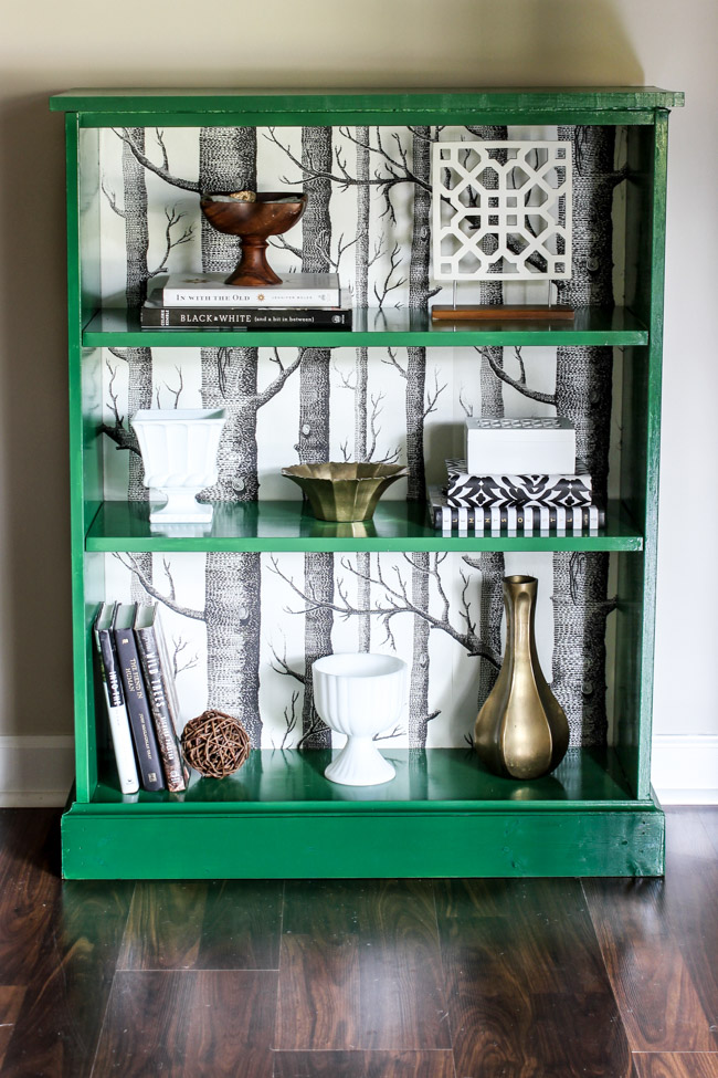 ikea billy bookcase makeover erin spain. Black Bedroom Furniture Sets. Home Design Ideas