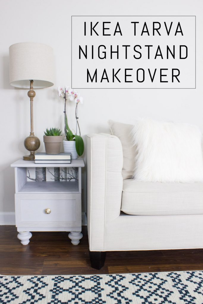 Check out this IKEA TARVA hack using FolkArt Home Decor Chalk!