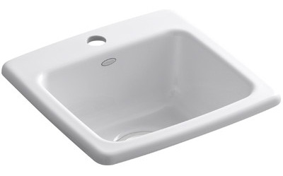 This Kohler sink will be installed in our coffee bar for the One Room Challenge.