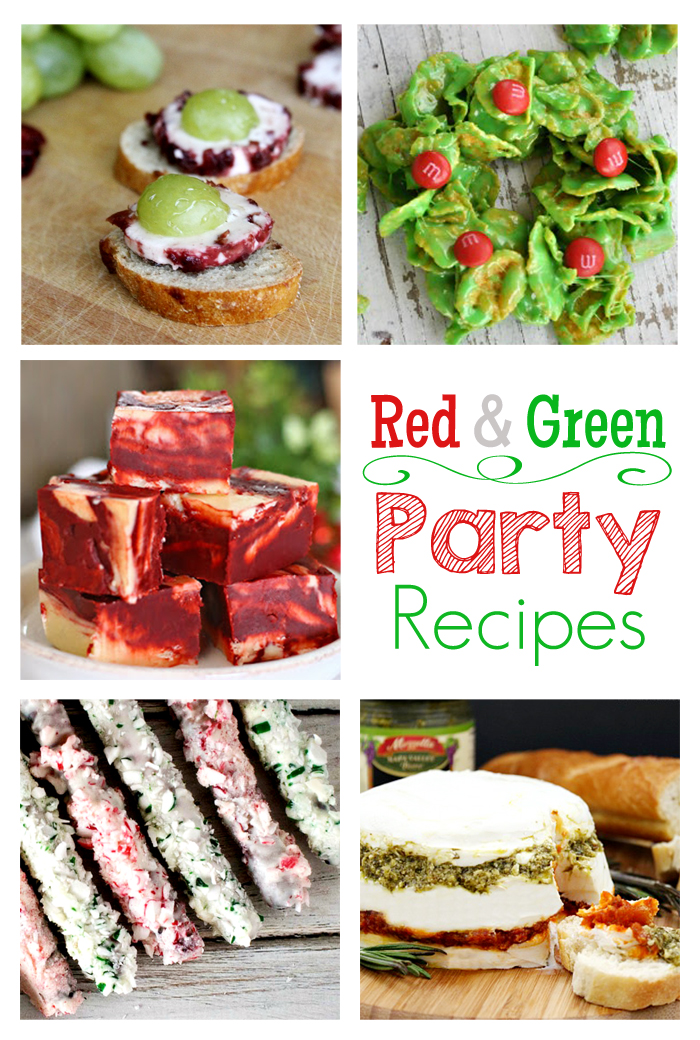Red & Green Party Recipes + M&MJ Link Party {86}