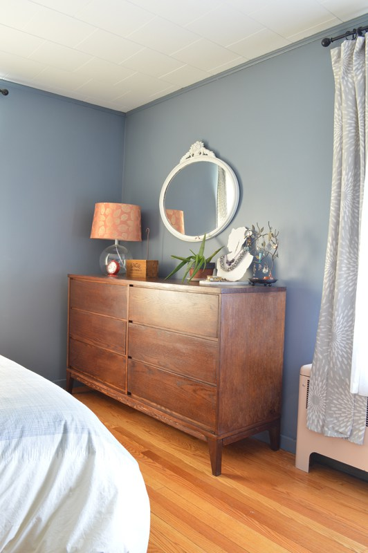 DIY Mid-Century Dresser, featured at #DIYLikeaBoss.