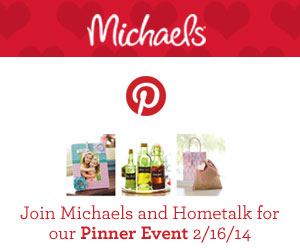 Hometalk and Michaels are having a Pinterest party! Don't miss it!