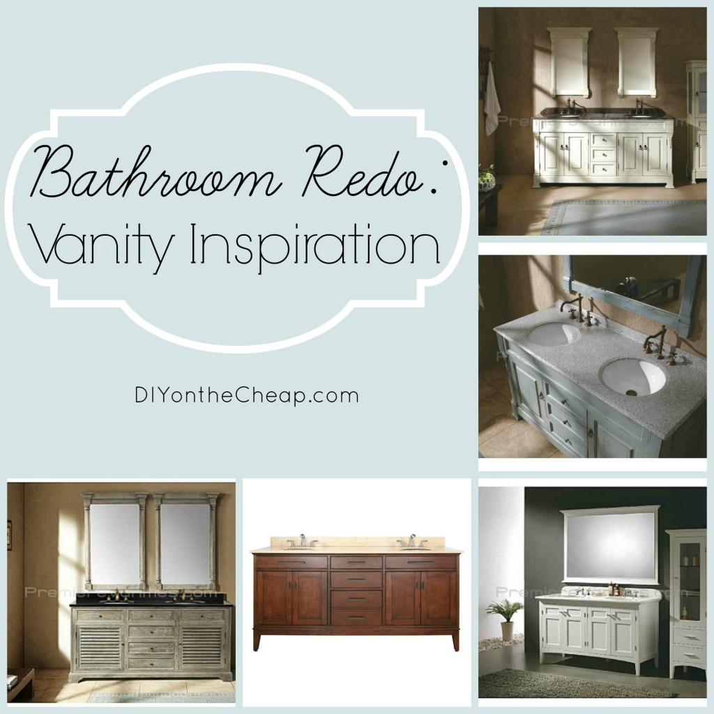 Bathroom Redo: Vanity Inspiration