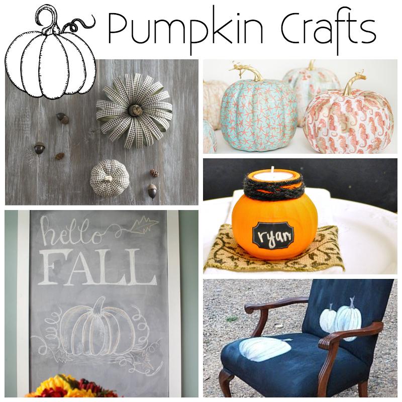 Pumpkin Crafts + M&MJ Link Party {74}