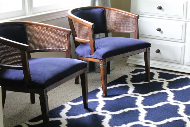 My Lazy Girl's Guide to Reupholstering Chairs {A Tutorial}