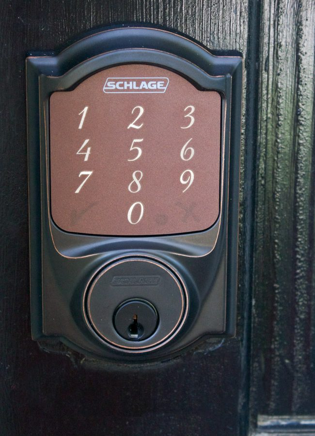 Our New Keyless Lock for the Front Door