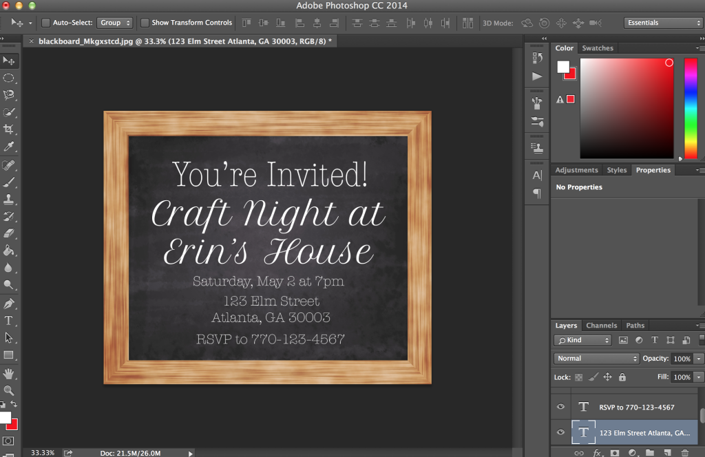 DIY Party Invitations & GraphicStock Subscription Giveaway! #ad