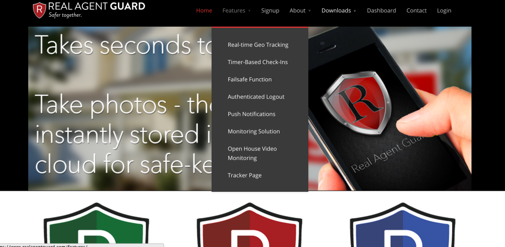 Real Agent Guard: Safety App for Real Estate Agents & Homeowners #RealAgentGuard